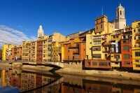 Достопримечательности Жироны: цветные кварталы и старинные здания Испании