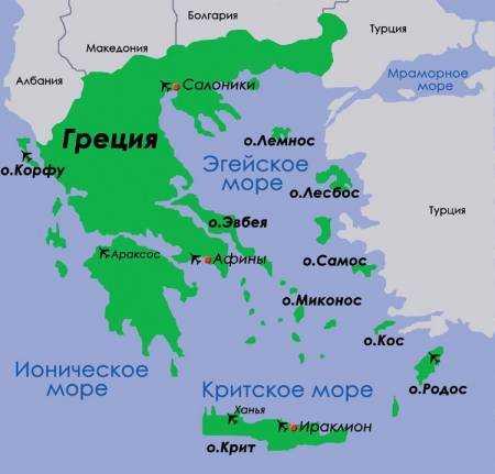 Izumrudnyj Raj Ostrov Korfu Na Karte V Mir Otdyha Ru
