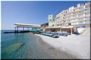 Рейтинг отелей на берегу моря в Ялте (Крым) — ТОП-3