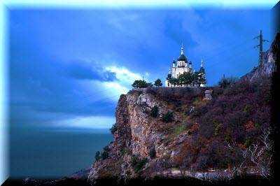Форосская церковь один из главных православных храмов Крыма