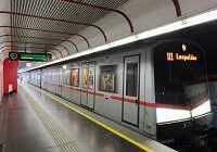 Общественный транспорт Вены — схема метро