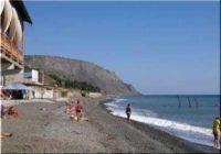 Дикие и оборудованные пляжи поселка Морское (Судак)