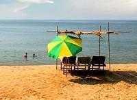 Бага — один из тусовочных пляжей Гоа