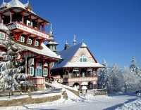 Карта горнолыжных курортов Чехии