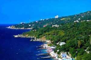 Алупка небольшой курорт Крыма
