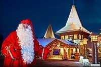 Где в Финляндии находится волшебная деревня Санта-Клауса?
