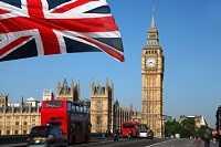 Королевство Великобритания на карте мира