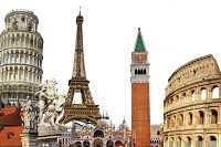 Что подготовила туристам Европа — достопримечательности части света на карте