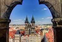 Солнечная погода в Праге в апреле