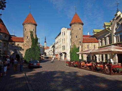 Стены Таллина - настоящий музей