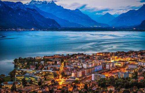 Настоящая жемчужина Альп - Женевское озеро