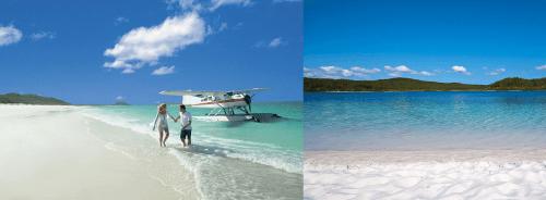 Пляж Белой Гавани в Австралии