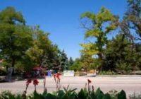 Парк Фрунзе в Евпатории для детей и взрослых