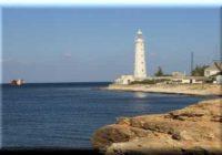 Тарханкутский маяк в Крыму