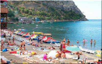 Популярные пляжи поселка Новый Свет