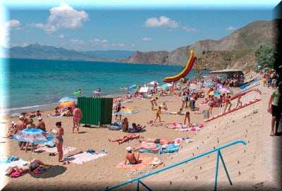 Лучшие пляжи курортного Орджоникидзе