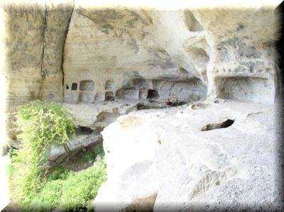 Кыз-Кермен пещерная крепость близ Бахчисарая