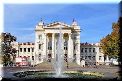 Дворец детства и юности в Севастополе