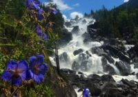 Большой Чульчинский водопад на Алтае