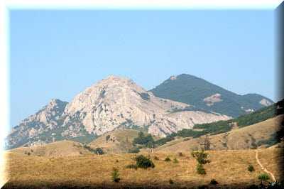 Эчки-Даг козья гора