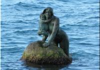 Памятник Русалке символ Мисхора